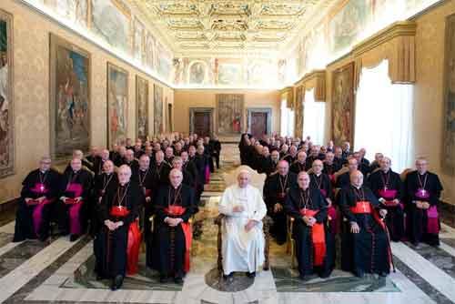 papa-francisco-obispos-españoles
