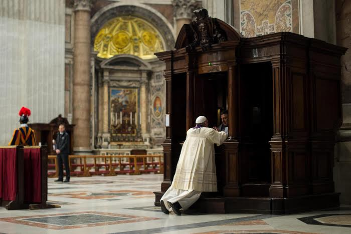 confesion papa francisco