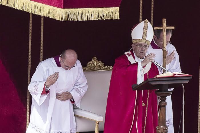 homilia papa domingo de ramos