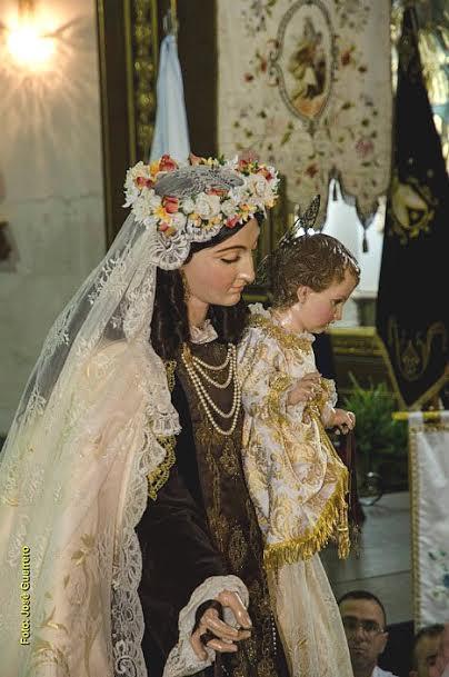 Virgen de Carmen de Cuevas del Almanzora