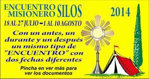 encuentros misioneros silos 2014