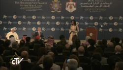 papa autoridades jordanas