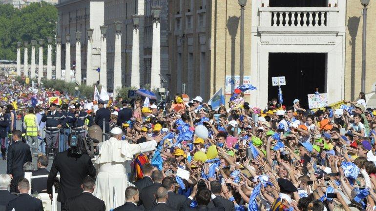papa francisco roma