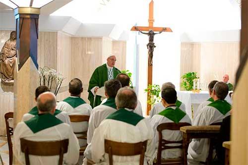santa marta papa francisco