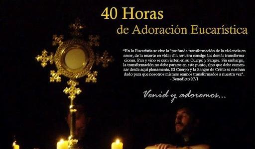 Santander Iglesia de la Consolación, 40 horas eucarísticas