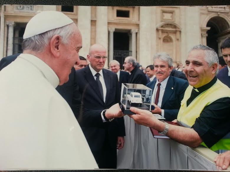 José Aumente Papa Francisco