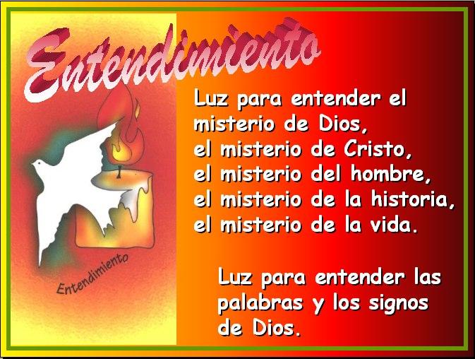 espiritu santo entendimiento