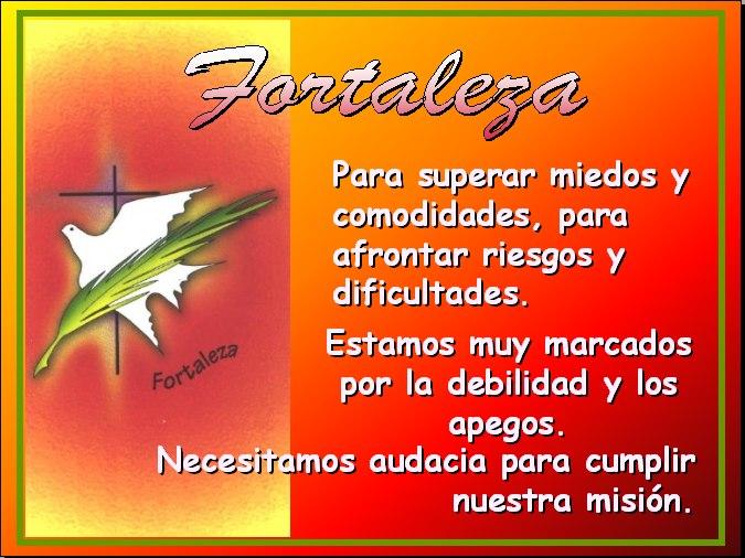fortaleza espiritu santo