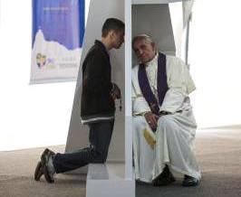 papa confiesa