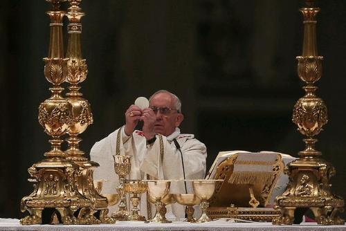 papa francisco eucaristia