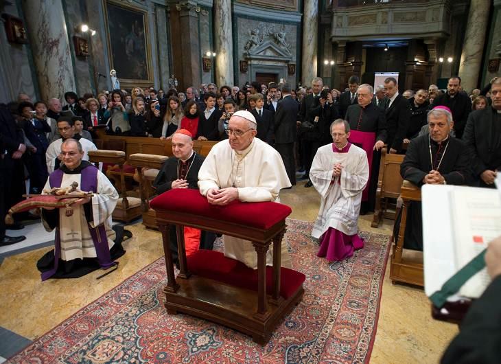 papa francisco reza