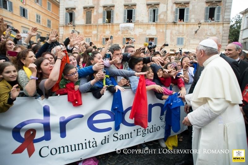 Papa y San Egidio