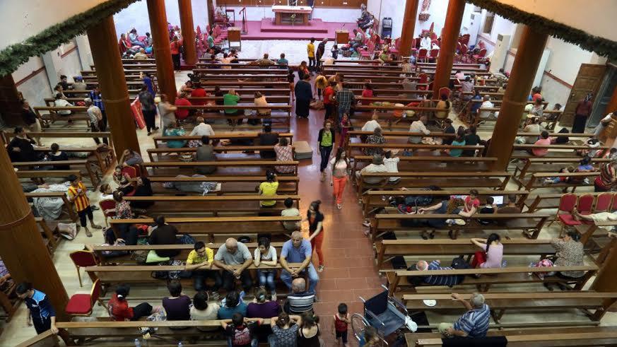 cristianos gaza