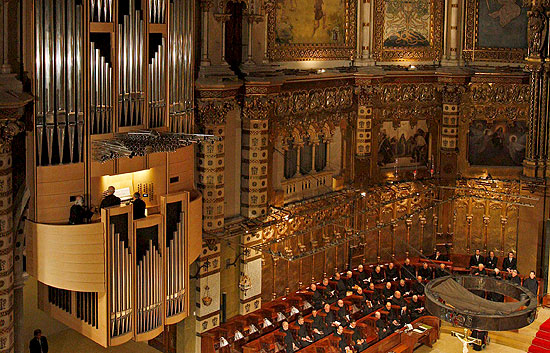 organo abadia montserrat