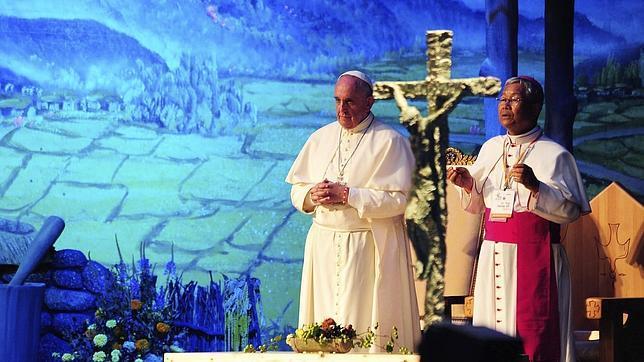 papa francisco enfermos corea