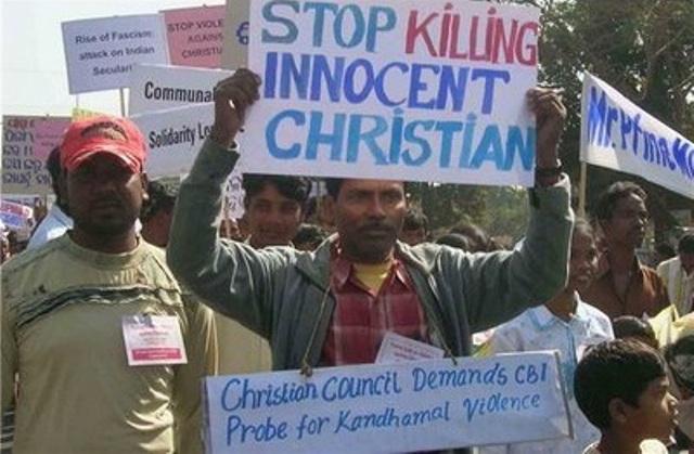 Resultado de imagen para persecucion a cristianos en india