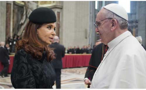 presidenta-argentina-papa