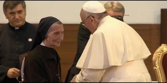 papa francisco hermana