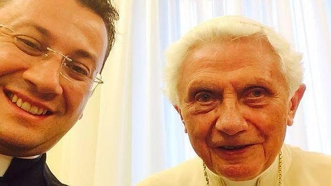 selfie benedicto XVI