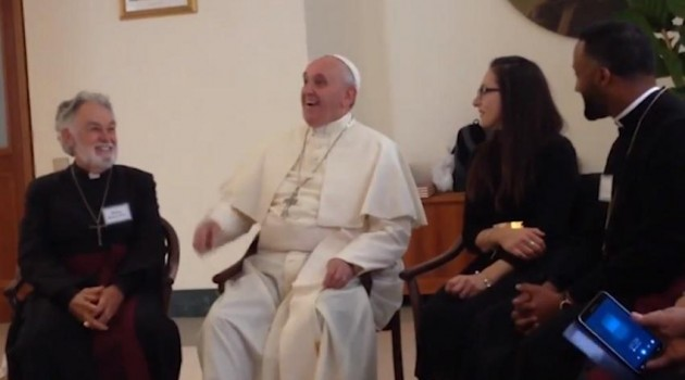 Papa Francisco-obispos anglicanos pentecostales