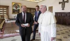 Papa Francisco-Martin Schulz