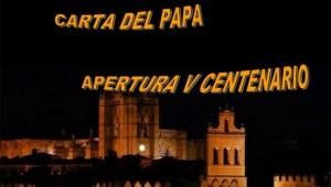 carta-papa-apertura-centenario-santa-teresa