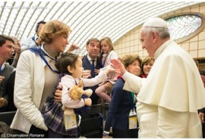 papa francisco familia