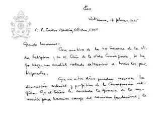 carta-papa-francisco-a-religiosos