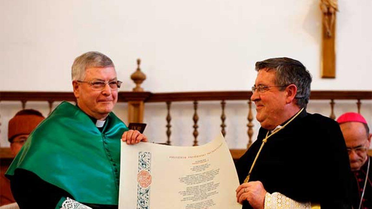 Gianfranco Ghirlanda, sj., doctor honoris causa en la UPSA