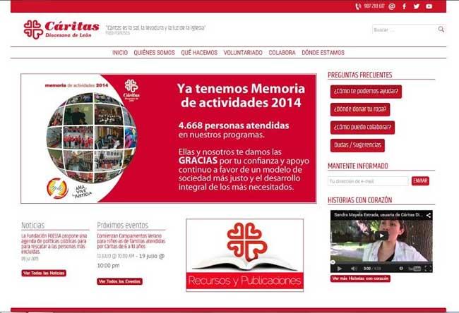 web-caritas-leon