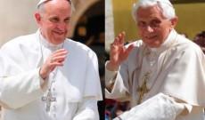 Benedicto XVI-Francisco