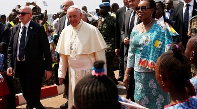 Papa Centroafricana