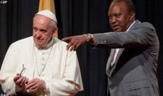 Papa-Francisco-Kenia-Uhuru Kenyatta