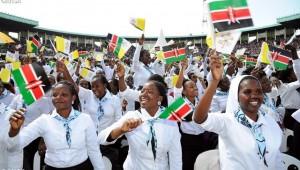 Papa Kenia jóvenes