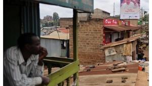 Papa Nigeria barrio pobre