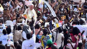 jóvenes-Uganda-Papa-Francisco