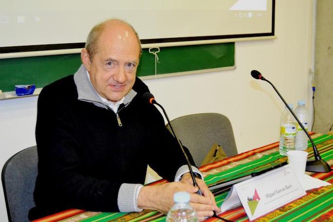 Miguel García-Baró, en una foto de archivo