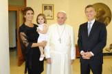 Mauricio_Macri_Papa Francisco