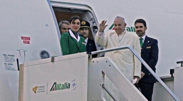 Papa-Francisco-Avión-México