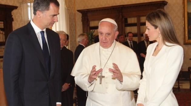 Reyes-España-Papa Francisco