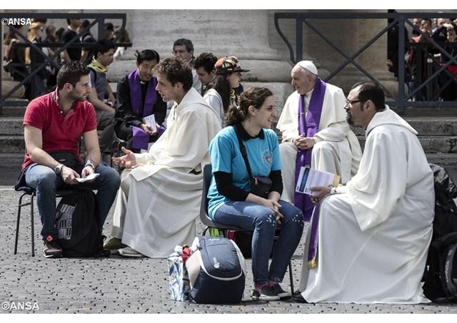 """El Papa Francisco en """"diálogo sincero por la paz en Colombia"""" con ..."""