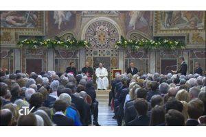 Papa-Francisco-Premio Carlomagno