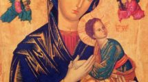 icono de María del Perpetuo Socorro -Granada