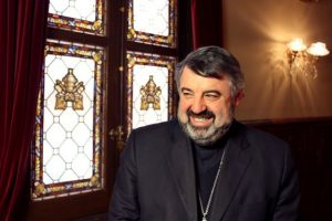 Teruel. Carlos Escribano, procedente de la diócesis de Teruel, el próximo 25 de junio será nombrado nuevo obispo de nuevo obispo de la diócesis  de Calahorra y La Calzada-Logroño . Foto Diócesis de Teruel. 13-05-2016.