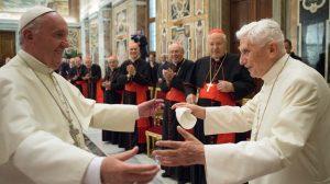 Francisco-Benedicto XVI 65 años