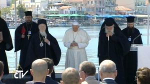 Francisco-patriarca-Constantinopla-Atenas-Lesbos