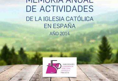 memoria anual actividades iglesia catolica