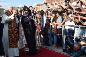 paz ecumenico papa armenia