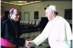 Joaquín María López andujar con Papa Francisco