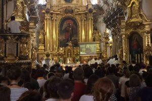 Misa en memoria del P. Hamel en la iglesia de San Florián